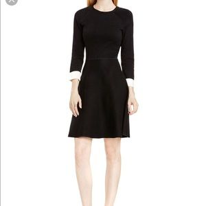 Vince Camuto Fit and Flare Sweater Dress